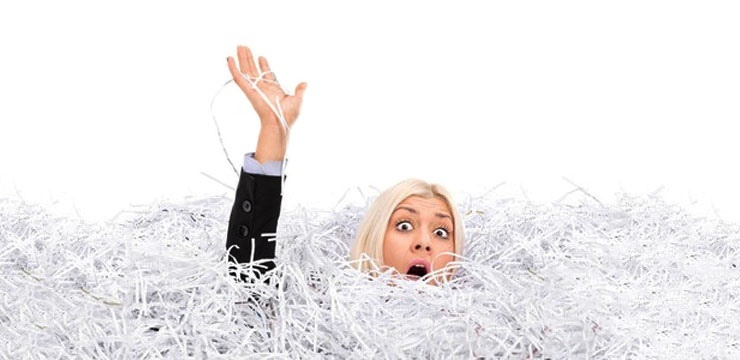 drowning in invoices