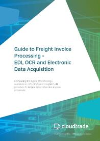 Guide Freight Invoice Processing page 1