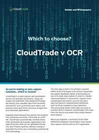 Which to choose? CloudTrade v OCR image