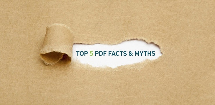5 facts and myths about the PDF invoice