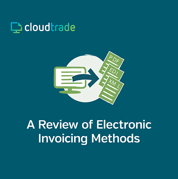 A REVIEW OF ELECTRONIC INVOICING METHODS