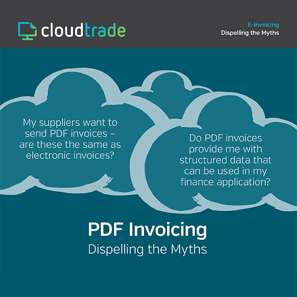 PDF INVOICING: DISPELLING THE MYTHS
