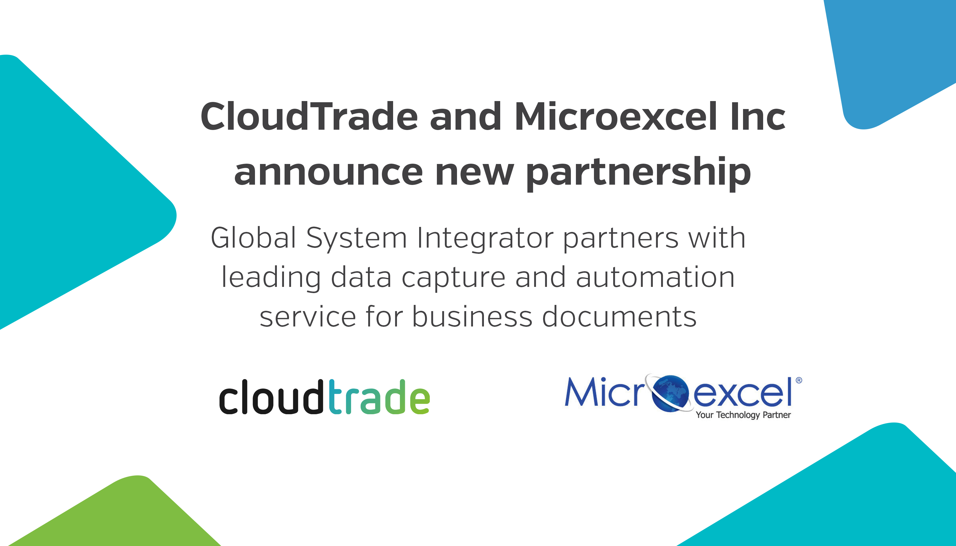 Microexcel Inc announces partnership with CloudTrade