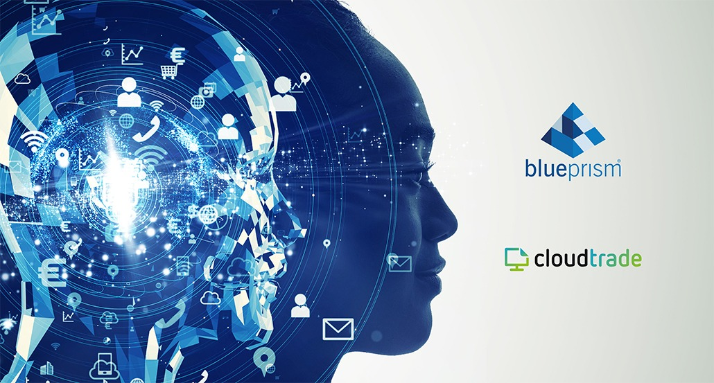 CloudTrade's Intelligent Data Processing solution now available on the Blue Prism Digital Exchange.